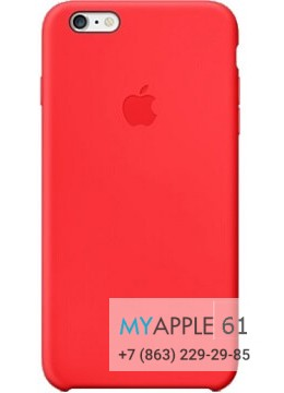 Чехол Apple Red Plus
