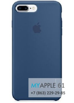 Чехол Apple Leather Case Blue