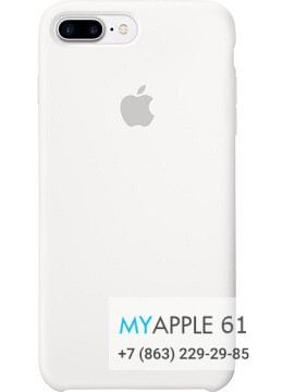 Чехол Apple Leather Case White