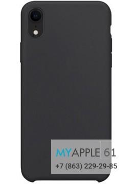 Силиконовый чехол iPhone Xr (10r) черный