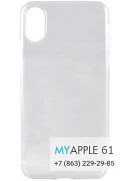 Силиконовый чехол iPhone Xr (10r) прозрачный