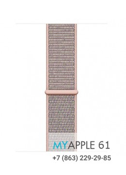 Apple Watch Series 4 40 mm Gold with Pink Sand Sport Loop