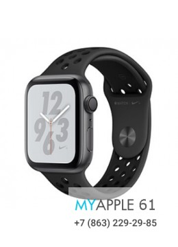 Apple Watch Series 4 40 mm Nike Space Gray Anthracite Black Nike