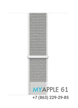 Apple Watch Series 4 40 mm Silver with Seashell Sport Loop
