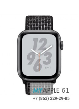 Apple Watch Series 4 44 mm Nike Space Gray Black Nike