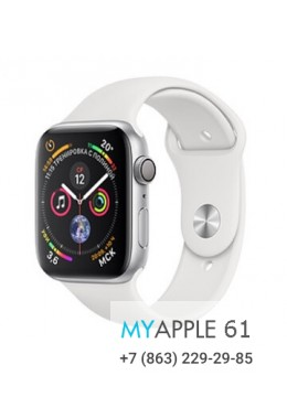 Apple Watch Series 4 44 mm Silver White