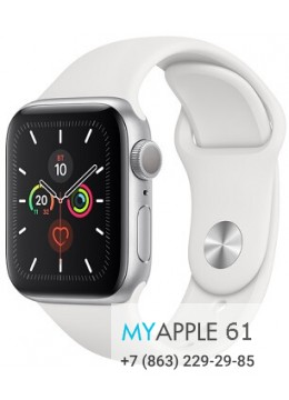 Apple Watch Series 5 40 mm Silver White
