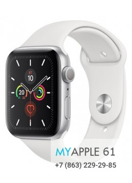 Apple Watch Series 5 44 mm Silver White