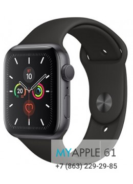 Apple Watch Series 5 44 mm Space gray Black