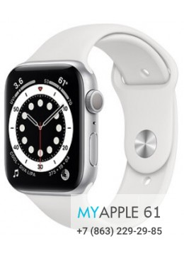 Apple Watch Series 6 44 mm Silver White