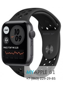 Apple Watch Series 6 44 mm Nike Space Gray Anthracite Black
