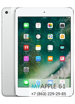 iPad mini 4 Wi-Fi + Cellular 32 Gb Silver
