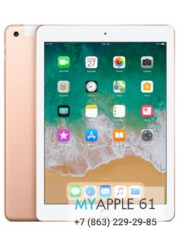iPad New 2018 Wi-Fi + Cellular 32 Gb Gold